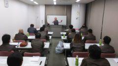 会社イベント芋掘り体験 ・全体会議風景